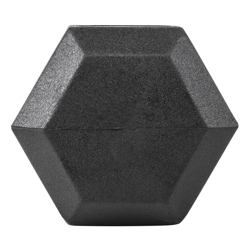 Lifeline Hex Rubber Dumbbell - 10 LBS_3