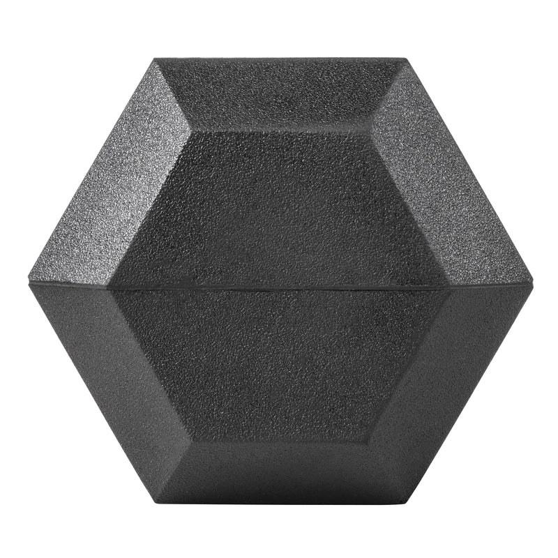 Lifeline Hex Rubber Dumbbell - 20 LBS_9