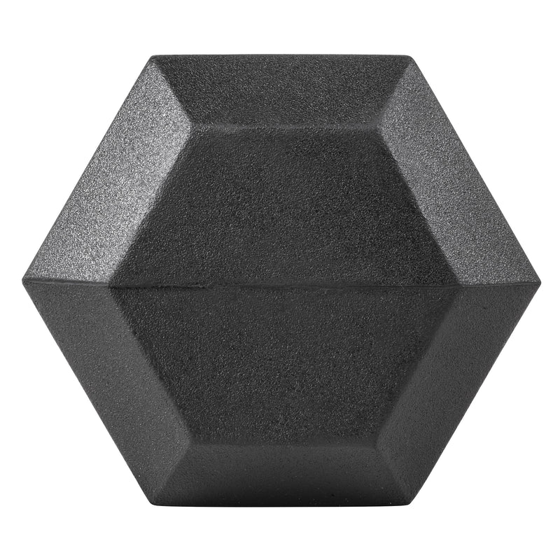 Lifeline Hex Rubber Dumbbell - 30 LBS_3