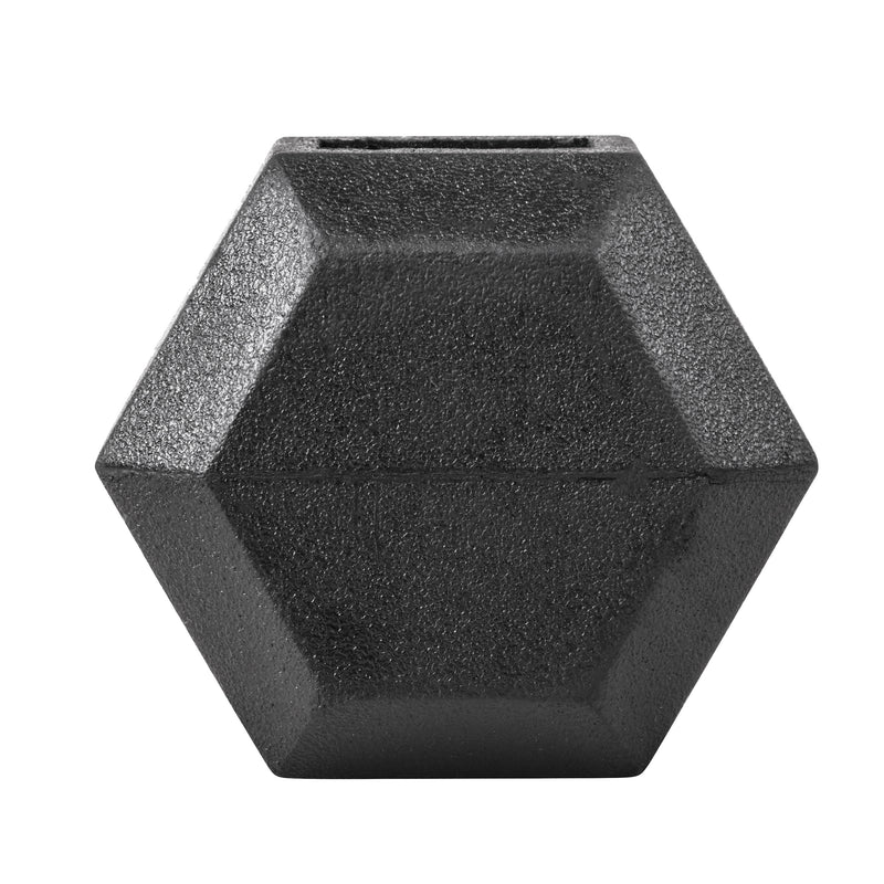 Lifeline Hex Rubber Dumbbell - 5 LBS_6