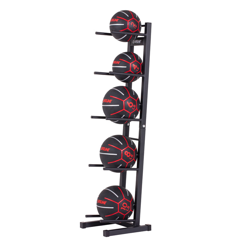 Lifeline Medicine Ball Set - 2-10lb w/rack_6