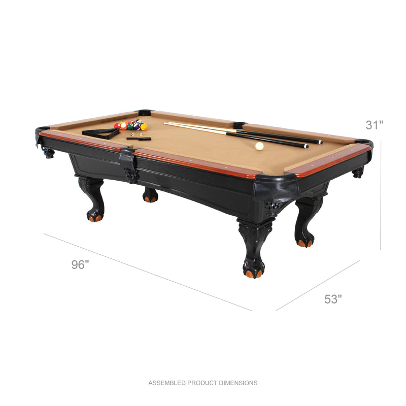 Minnesota Fats 8' Covington Billiard Table_2