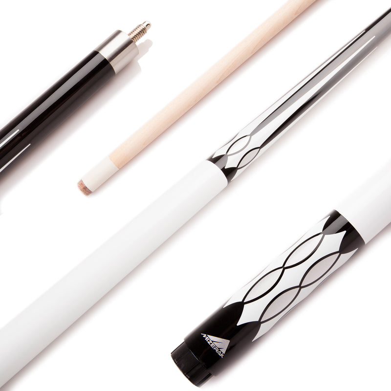 "Mizerak 58"" Two-Piece Maple Cue_1"