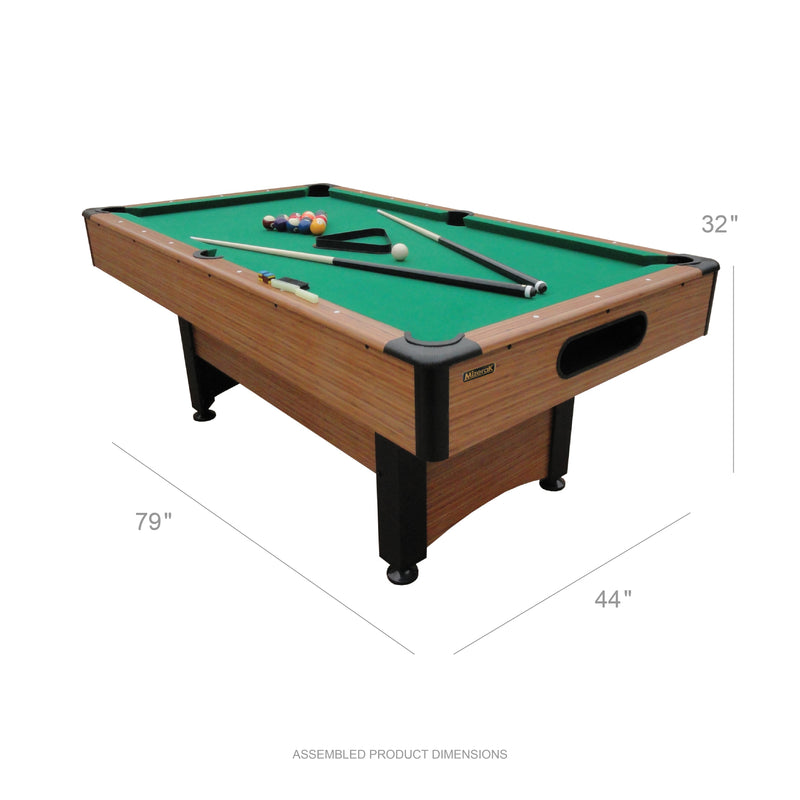 Mizerak Dynasty SpaceSaver Billiard Table_2