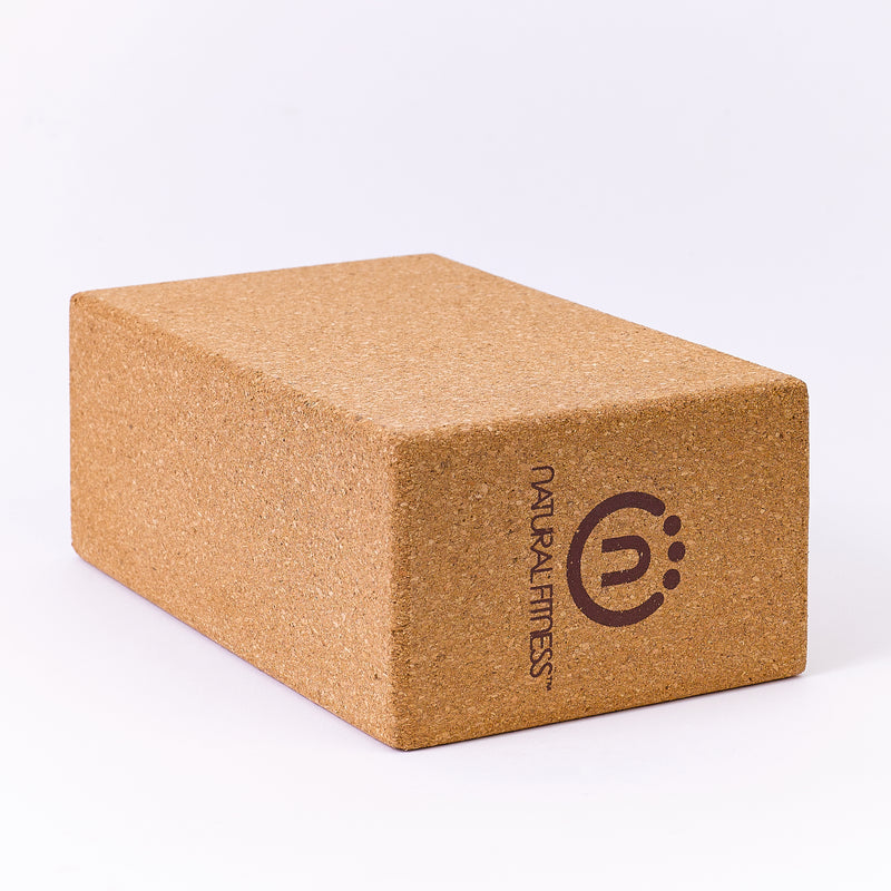 Natural Fitness Cork Yoga Block_6
