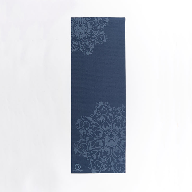 Natural Fitness Eco-Smart Yoga Mat - Indigo/Aqua_2