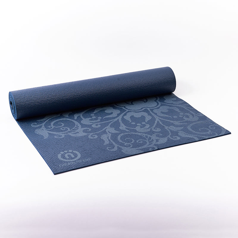 Natural Fitness Eco-Smart Yoga Mat - Indigo/Aqua_4