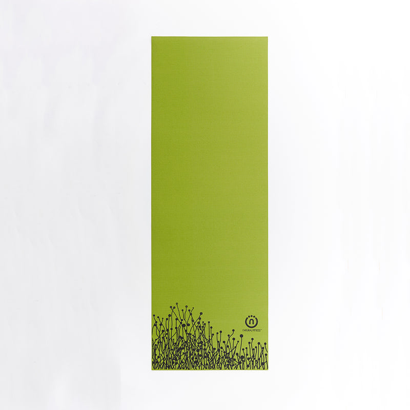 Natural Fitness Eco-Smart Yoga Mat - Moss/Night_2