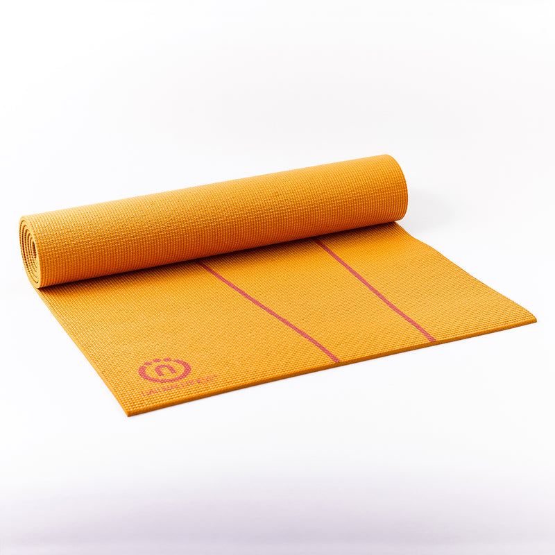 Natural Fitness Eco-Smart Yoga Mat - Orange/Red Rock_4