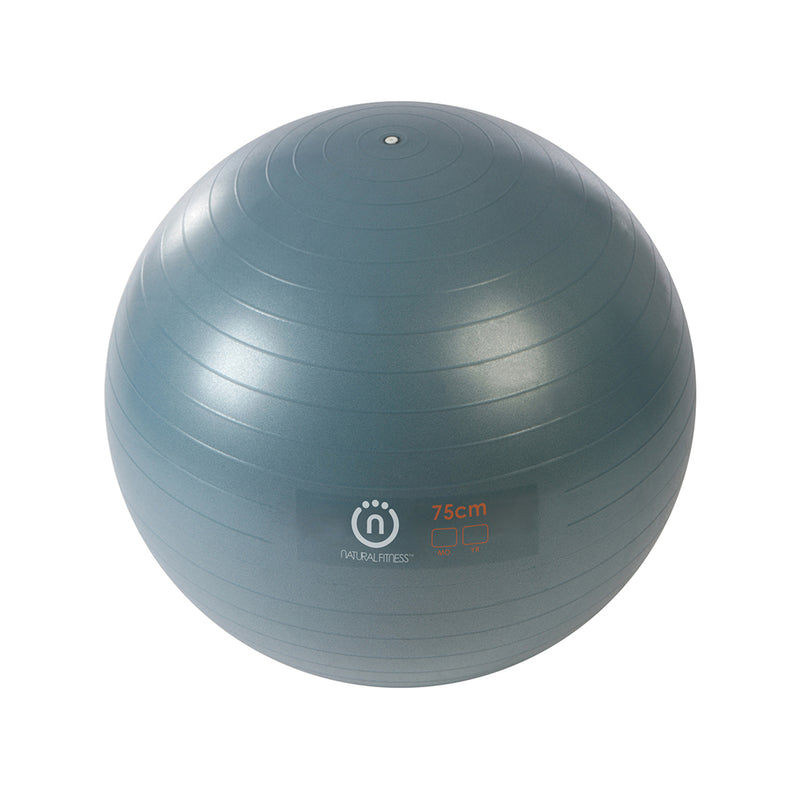 Natural Fitness PRO Burst Resistant Exercise Ball- 75cm_1