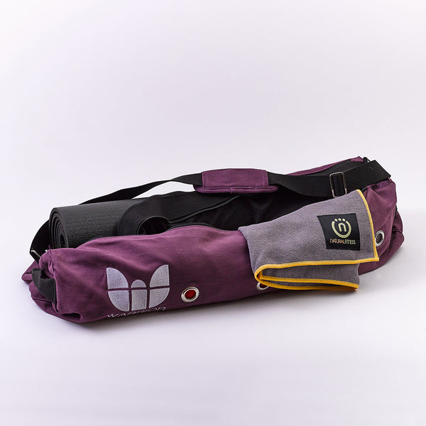 Natural Fitness YOGO PRO Yoga Mat Bag - Purple_2