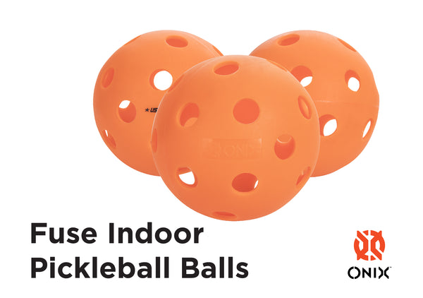 ONIX Fuse Indoor Pickleball Balls (6 Pack)_2