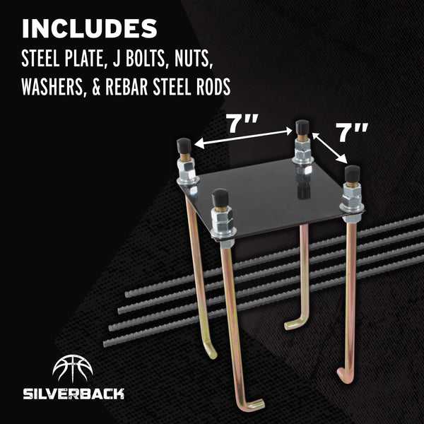 "Silverback 7"" Basketball Anchor Kit_2"