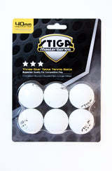 STIGA 3 Star Balls - White 6 Pack_2
