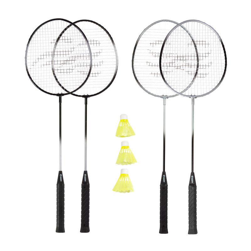 Triumph 4-Player Badminton Racket Set_1