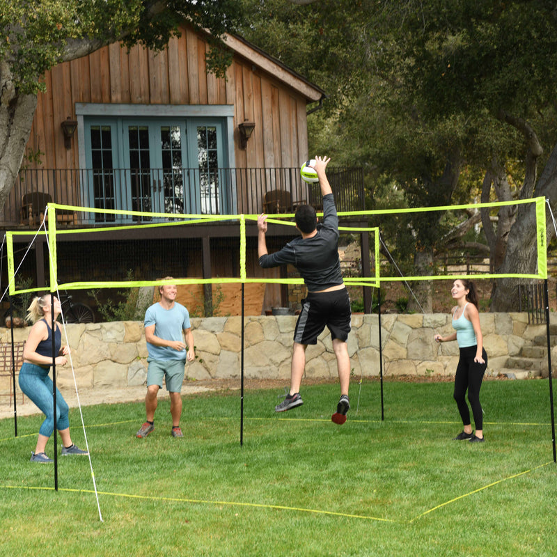 Triumph 4-Square Volleyball/Badminton Combo_11