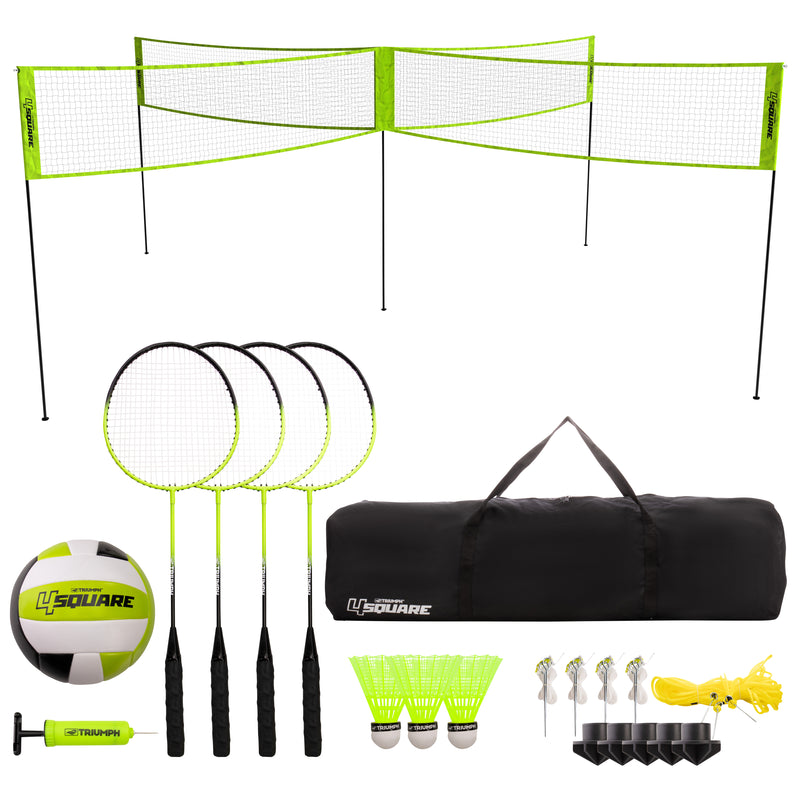 Triumph 4-Square Volleyball/Badminton Combo_1