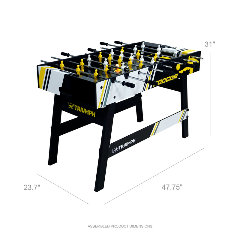"Triumph 48"" Express Foosball LED Table_1"