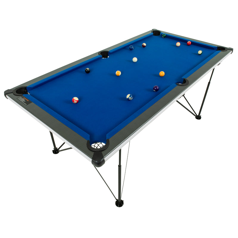 Triumph 6' Pop Up Portable folding Billiard Table_11