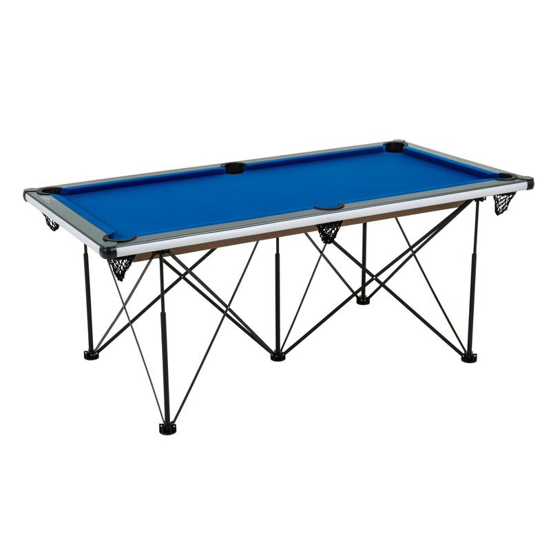 Triumph 6' Pop Up Portable folding Billiard Table_12