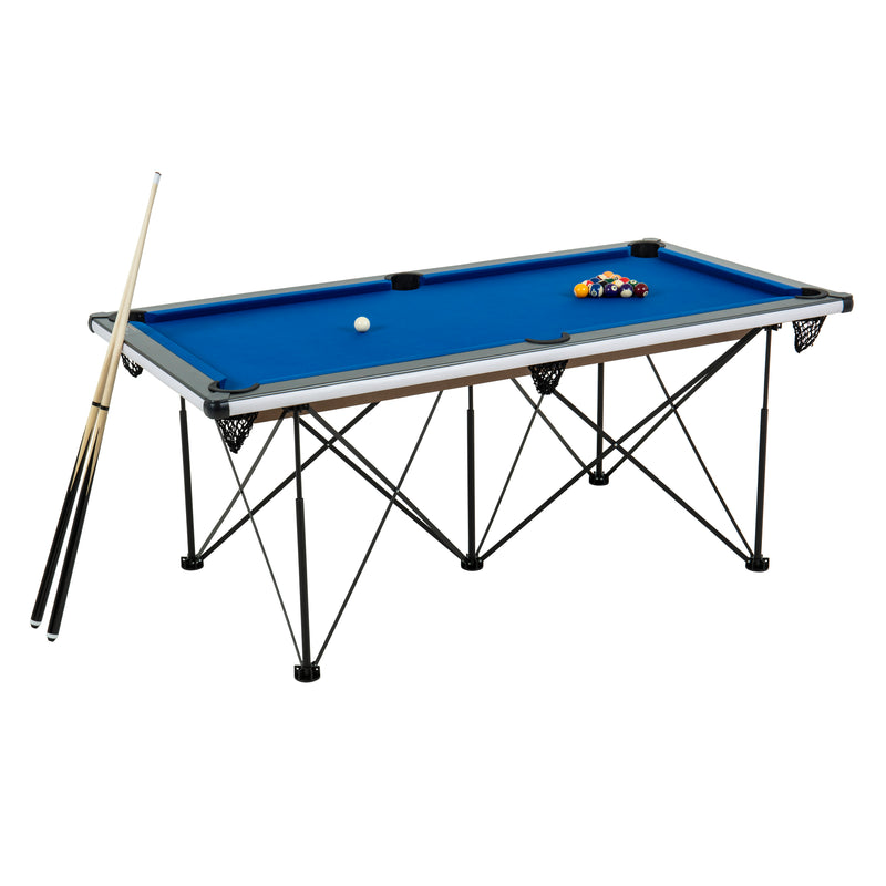 Triumph 6' Pop Up Portable folding Billiard Table_1