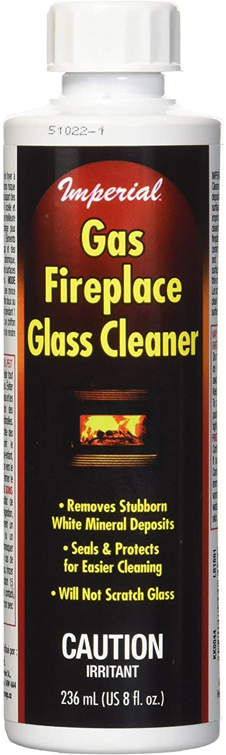 Imperial Gas Fireplace & Glass Cleaner  8 Ounce Bottle