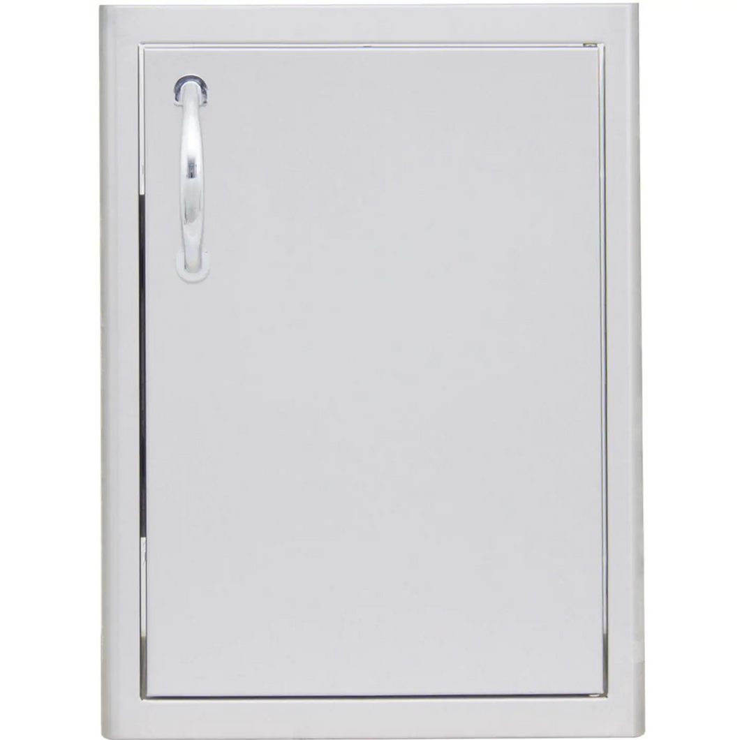 Blaze 21-Inch Right Hinged Stainless Steel Single Access Door - Vertical - BLZ-SV-2417-R