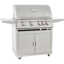 Load image into Gallery viewer, Blaze LTE 32-Inch 4-Burner Gas Grill With Rear Infrared Burner & Grill Lights On Cart