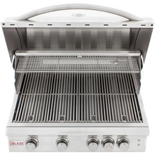 Load image into Gallery viewer, Blaze LTE 32-Inch 4-Burner Built-In Gas Grill With Rear Infrared Burner & Grill Lights