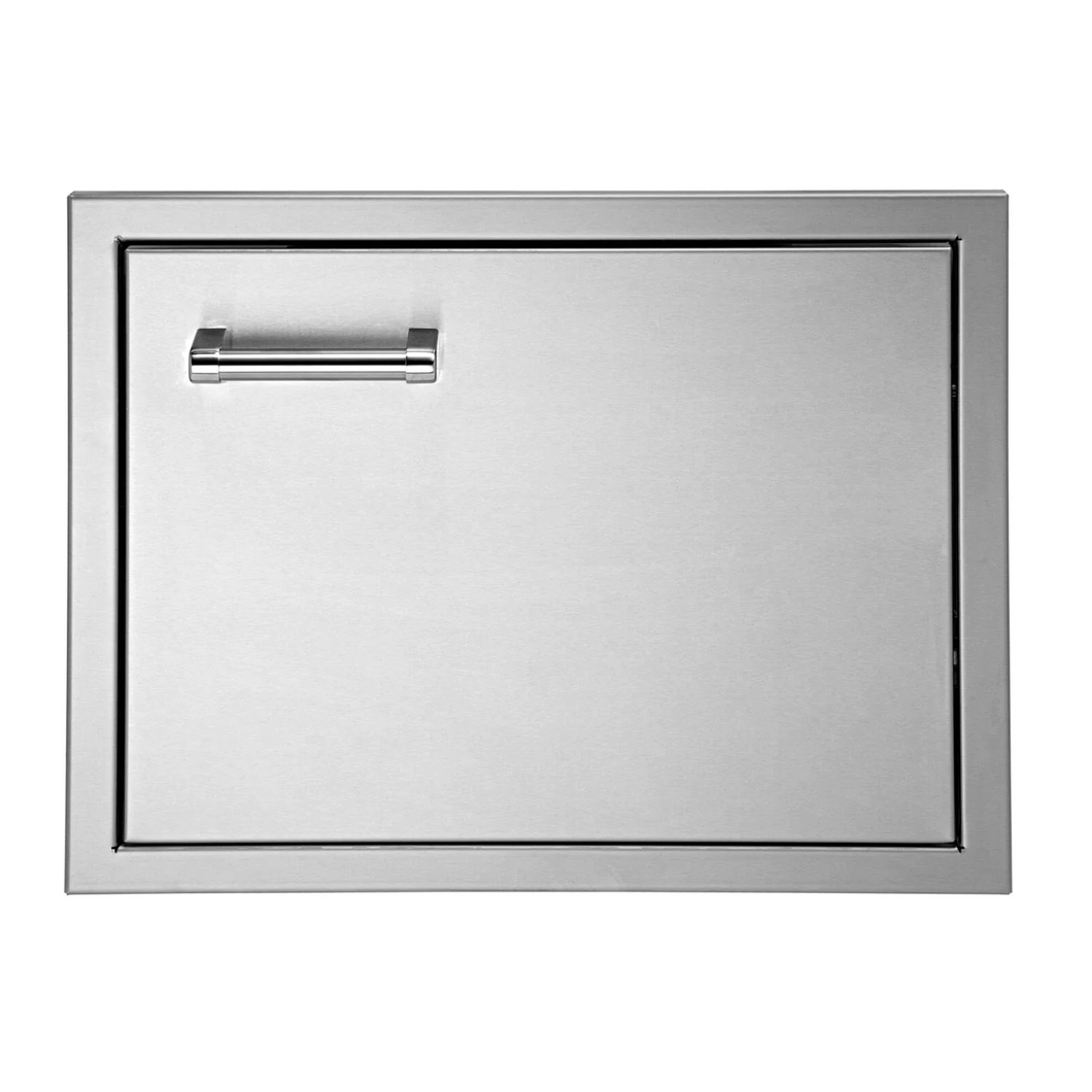 Delta Heat 22-Inch Right Hinged Stainless Steel Single Access Door - Horizontal
