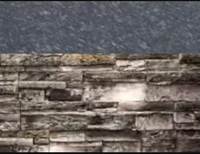 Load image into Gallery viewer, Grey Stacked Stone with Steel Gray Polished Countertop