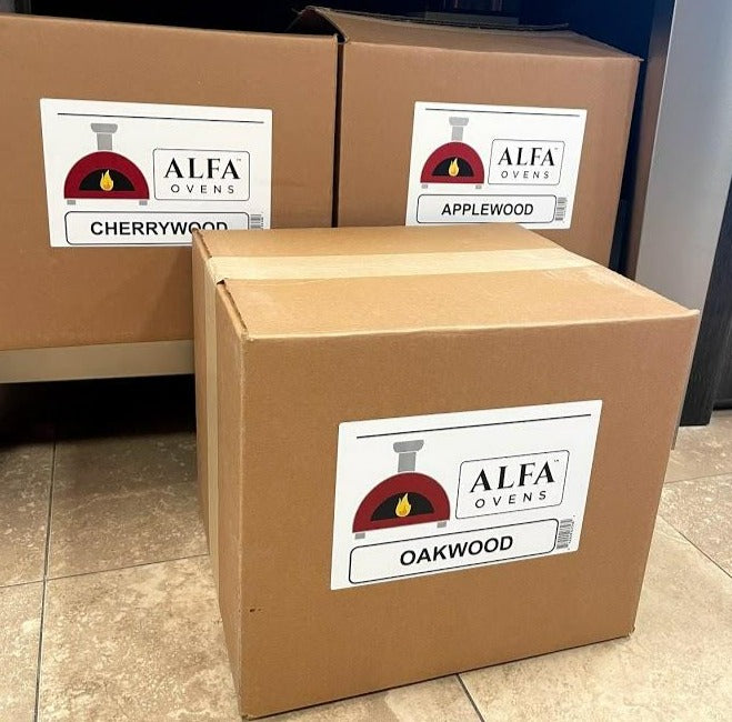 Alfa Cooking Wood For Pizza Ovens Firepits Grills Fireplaces - Made In Italy