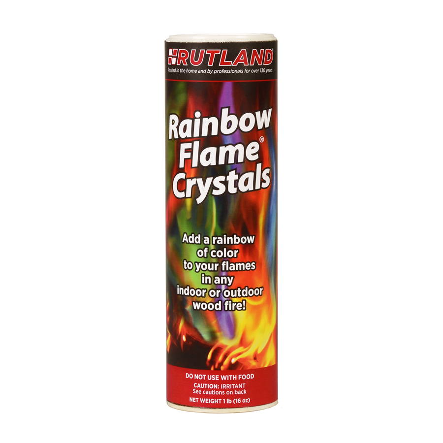 Rutland Rainbow Flame Crystals