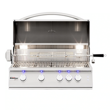Load image into Gallery viewer, Summerset Sizzler Pro 32-Inch 4-Burner Built-In Gas Grill With Rear Infrared Burner