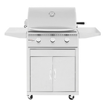 Load image into Gallery viewer, Summerset Sizzler 26-Inch 3-Burner Gas Grill On Cart