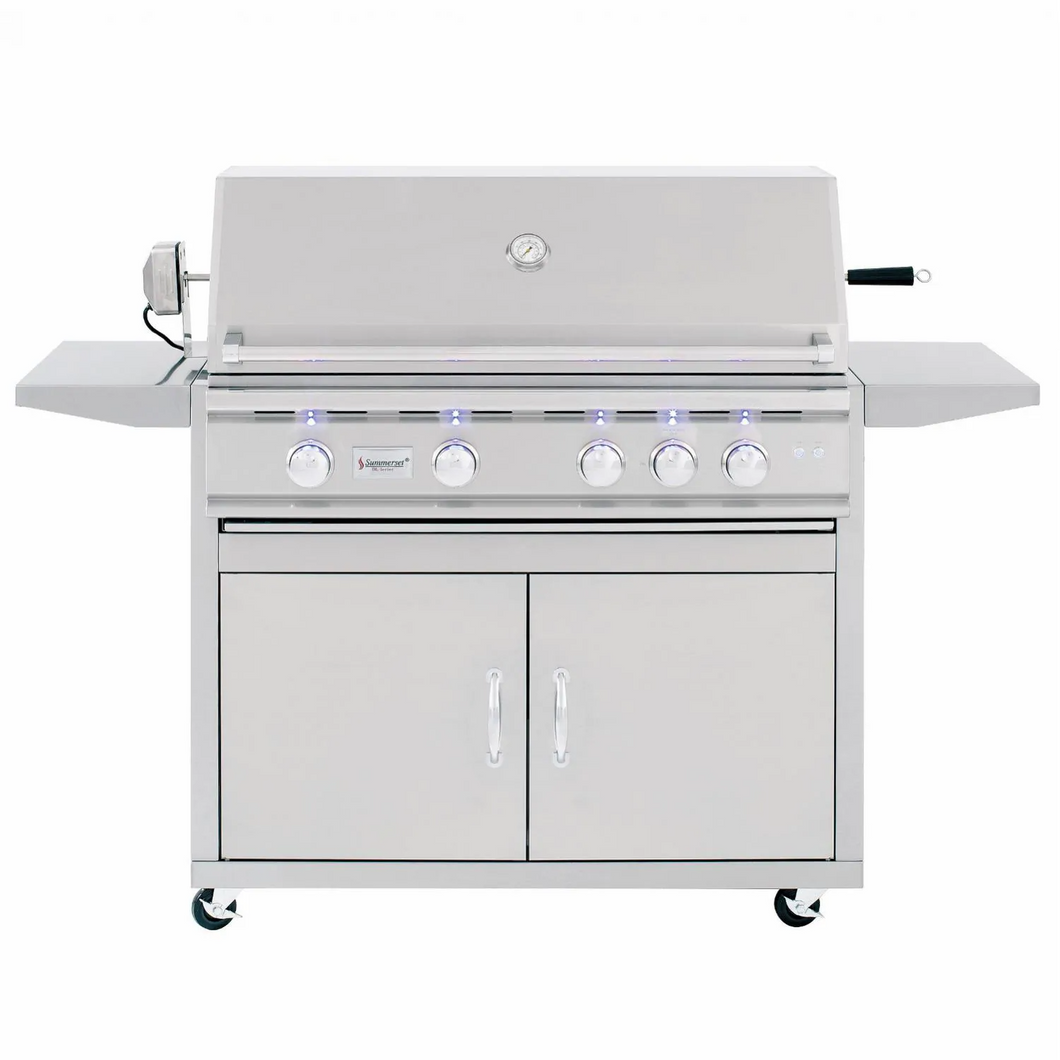 Summerset TRL 38-Inch 4-Burner Gas Grill With Rotisserie