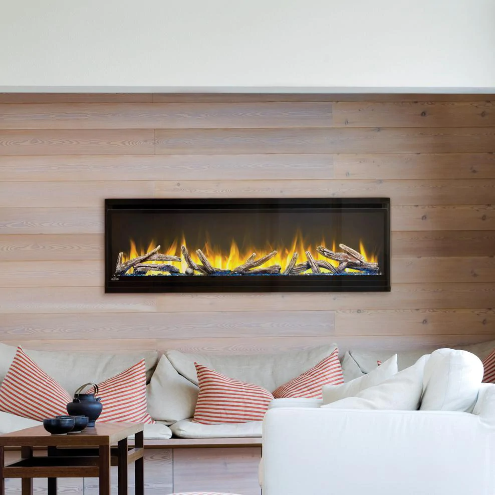Napoleon Alluravision Deep 50-Inch Wall Mount / Recessed Electric Fireplace - NEFL50CHD