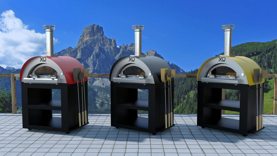 XO 40 Inch Wood-Fired Pizza Oven On Cart