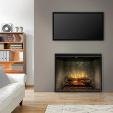 "Load image into Gallery viewer, Dimplex 36"" Revillusion Built-in Electric Firebox - RBF36PWC"