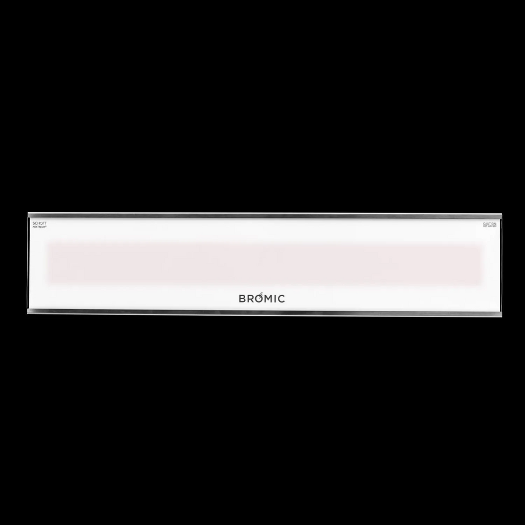 Bromic Heating Platinum Smart-Heat Series II 33-Inch 2300W 7,900 BTU 240V Electric Patio Heater - White