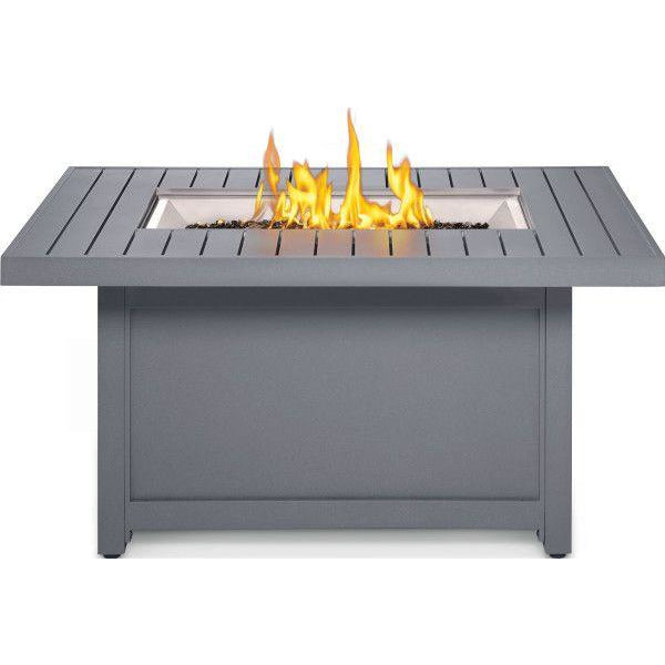 Napoleon Patioflame Hamptons Rectangular Gas Fire Table - HAMP1-GY
