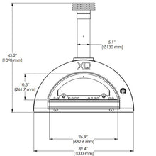 Load image into Gallery viewer, XO 40 Inch Wood-Fired Pizza Oven Countertop
