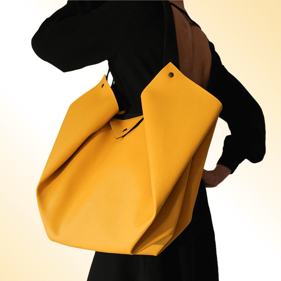 Sac Tulipe Origami Yellow