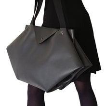 Load image into Gallery viewer, Sac Berlingo Textile-Nada Bags Paris | gray