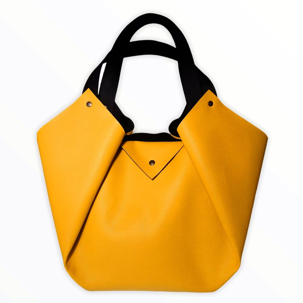 Sac Tulip Textile-Nada Bags Paris | yellow