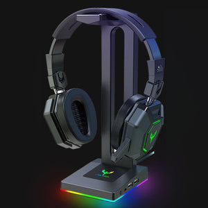 HS18 RGB Gaming Headphone Stand