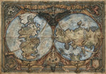 Carte du Monde Game of Thrones