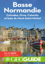 Carte touristique de Basse-Normandie - Guide France