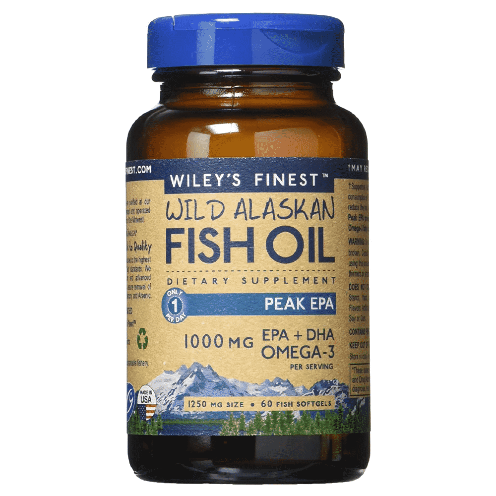 Wiley's Finest Omega 3 Oil