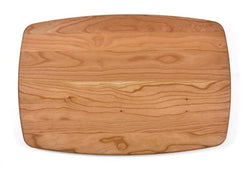 "Arched Cherry Cutting Board (10.5"" x 16"")"